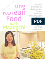 Cooking Korean Food With Maangchi Cookbook