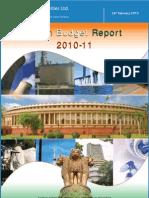 Union Budget Report 2010-11