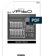 Vf160 Owners Manual