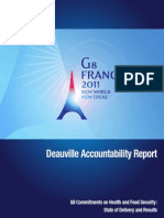 Accountability Rapport G8 Deauville Exec Summary