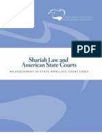 New Study Finds Shariah Law Involved in Court Cases in 23 States