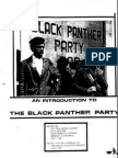 Introduction to Black Panther Party