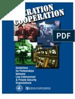 Operation Cooperation