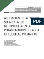 Energiasolar Potabilizacion Del Agua