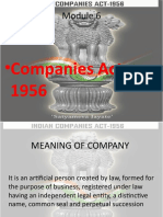 Bl Companies Act