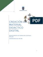 Curso Creacion de Material Didactico Multi Medial
