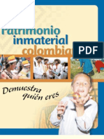 Cartilla Patrimonio In Material Colombiano