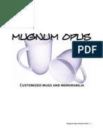 Mugnum Opus Business Plan