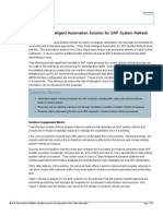 Cisco Tidal Intelligent Automation for SAP System Refresh Datasheet 1104B0710 - FINAL