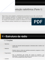 Tecnicas de produção radiofonica