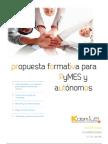 Propuesta Formativa Para PyMES y Autonomos