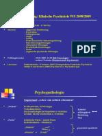Vorlesung-Einfuehrung Psychopathologie Psychiatrie