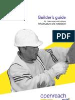 Openreach New Site Builder's Info Pack