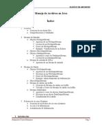 Manejo de Archivos en Java