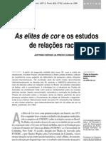 As elites de cor e os estudos de relações raciais