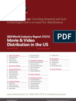 51212 Movie & Video Distribution in the US Industry Report