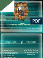 VIOLENCIA Y CONFLICTOS SOCIALES