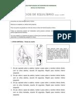 PROGRAMA DE EXERCÍCIOS DE  EQUILIBRIO[1]