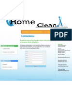 Home Clean - Contactos