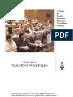 Teaching Portfolios