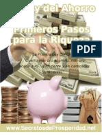 La Ley Del Ahorro[1]