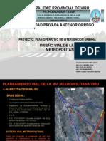 Expo Propuesta Planeamiento Vial Avenida Viru