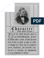 Character, by Ralph Waldo Emerson