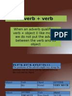 Adverb Verb