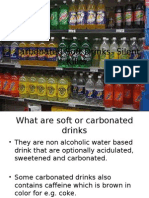 Carbonated r Areated Drinks