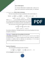 Ecuaciones Lineales Homog. de Orden Superior