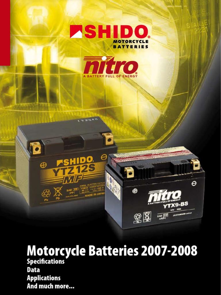 1990 Nitro YTX9-BS Batterie Honda NTV600 Revere  Bj