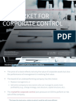 11. The Market for Corporate Control - Quick Guide Series