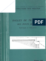 Dalles de Transition Des Ponts Routes