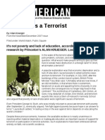 What Makes a Terrorist - The American