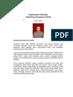Displacement Pada Pipa (Studi Kasus komputesi Teknik)