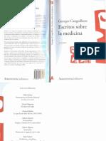 Canguilhem Georges_ Medicina