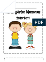 My Kindergarten Year
