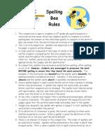Rules Spelling Bee 09