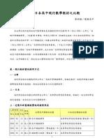 台灣與日本高中現行數學教材之比較詳全文