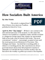 How Socialists Built America  _      Information Clearing House_ ICH