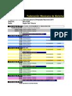 Olimpiada 2011-Programa