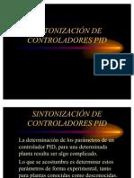 Sintonizacion de PID