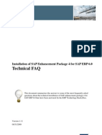 SAP Enhancement Package 4 for SAP ERP 6.0 - Technical FAQ