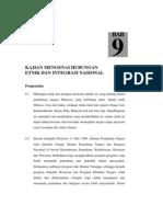 Hubungan Etnik Dan Integrasi Nasional