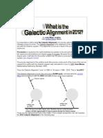 MAYA - Galactic Alignment in 2012 by John Major Jenkins
