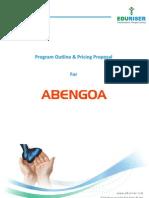 Program Outline & Pricing Proposal AbengoaV1