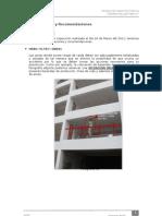 1°Informe de Inspección Técnica-Nortek (HSBC) - errores en la construccion