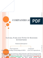 PPT - Companies Act - 1st
