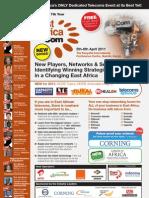 East Africa Com 2011 Brochure FINAL LR