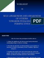 Self-Awareness and Awareness of Others (1)